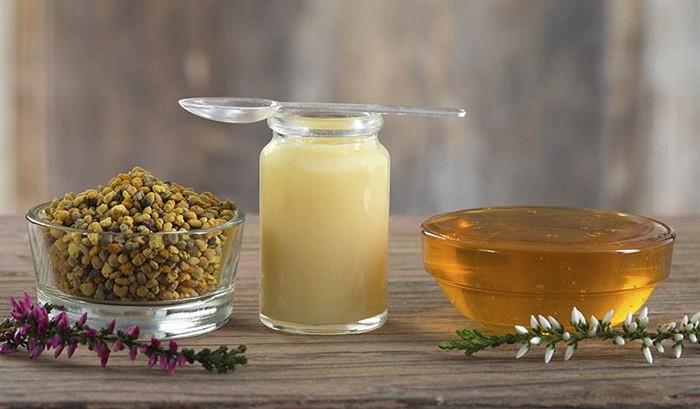 продукты пчеловодства:маточное молочка, перга мед,