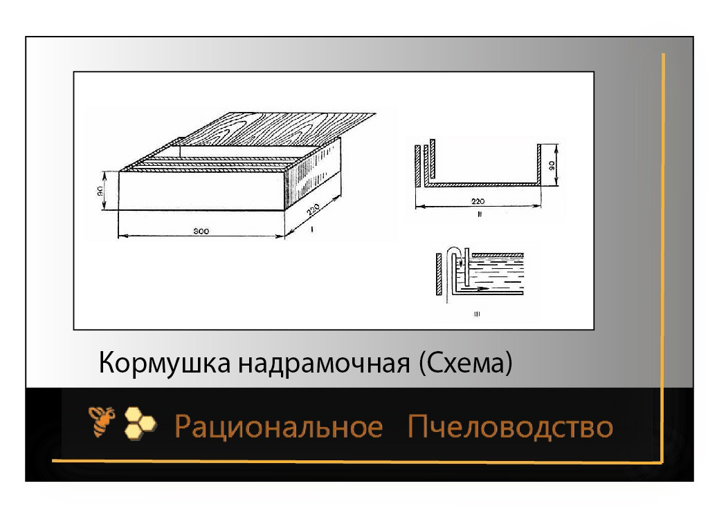 Схема кормушки потолочной